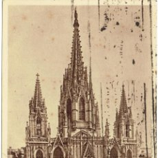 Postales: PS5331 BARCELONA 'LA CATEDRAL'. ZERKOWITZ. CIRCULADA EN 1936. Lote 46310576