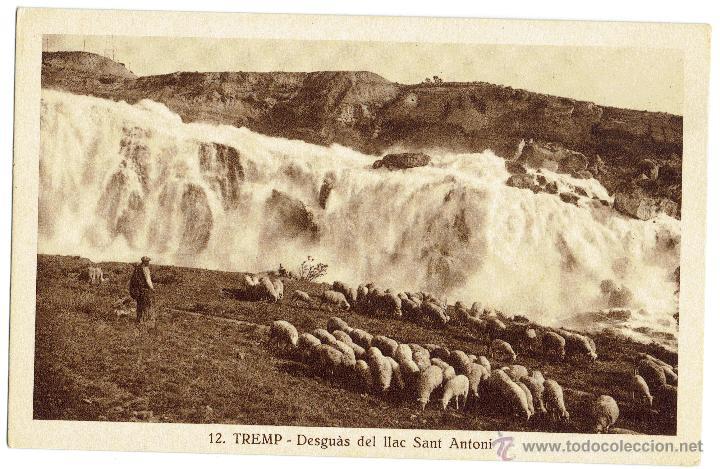 PS5442 TREMP 'DESGUÀS DEL LLAC SANT ANTONI'. S. GORDÓ. SIN CIRCULAR (Postales - España - Cataluña Antigua (hasta 1939))