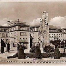Postales: ANTIGUA POSTAL 68 TARRASA MONUMENTO Y MUTUA DE SEGUROS ZERKOWITZ. Lote 54913437