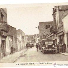 Postales: PS6435 S. FELIU DE CODINES 'PARADA DE AUTOS'. C. NAVARRO. SIN CIRCULAR. AÑOS 30. Lote 54941606