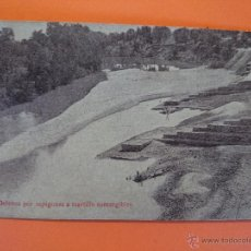 Postales: ANTIGUA POSTAL DEFENSA POR ESPIGONES A MARTILLO - A.BIANCHINI, INGENIEROS .. R-1715. Lote 35487282