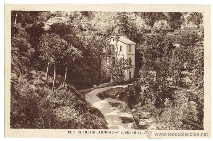 PS6438 S. FELIU DE CODINES 'S. MIGUEL PETIT'. C. NAVARRO. SIN CIRCULAR. AÑOS 30 (Postales - España - Cataluña Antigua (hasta 1939))
