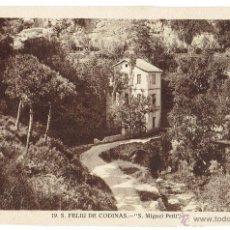 Postales: PS6438 S. FELIU DE CODINES 'S. MIGUEL PETIT'. C. NAVARRO. SIN CIRCULAR. AÑOS 30. Lote 54944049