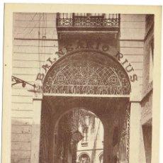 Postales: PS6473 CALDES DE MONTBUI 'BALNEARIO RIUS. ENTRADA'. L. ROISÍN. SIN CIRCULAR. PRINC. S. XX. Lote 54964334