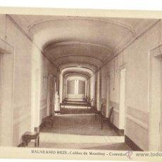 Postales: PS6477 CALDES DE MONTBUI 'BALNEARIO RIUS. CORREDOR'. L. ROISÍN. SIN CIRCULAR. PRINC. S. XX. Lote 54965158