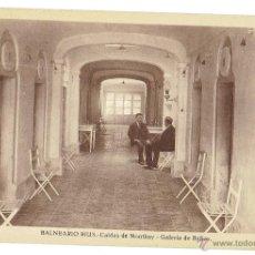 Postales: PS6479 CALDES DE MONTBUI 'BALNEARIO RIUS. GALERÍA DE BAÑOS'. L. ROISÍN. SIN CIRCULAR. PRINC. S. XX. Lote 54965324