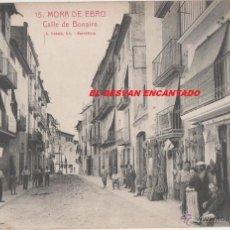 Postales: MORA DE EBRO. CALLE DE BONAIRE. Lote 54978608