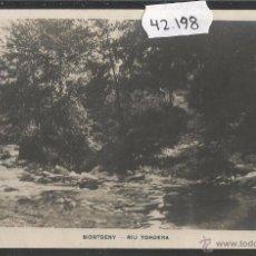 Postales: MONTSENY - RIU TORDERA - FOTOGRAFICA - (42198). Lote 55060476