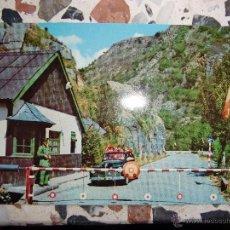 Postales: POSTAL VALLE DE ARÁN , FRONTERA DE PUENTE DEL REY . Lote 55086538