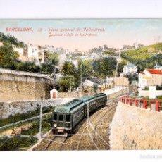 Postales: BARCELONA. VISTA GENERAL DE VALLVIDRERA. Lote 55327918