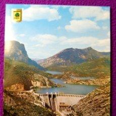 Postales: POSTAL DE OLIANA (LERIDA, LLEIDA). PANTANO. AÑOS 60.. Lote 55355642