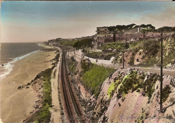 ANTIGUA POSTAL DE CANET DE MAR, PLAYA DE SANTO CRISTO - SOBERANAS Nº 11 - SIN CIRCULAR (Postales - España - Cataluña Moderna (desde 1940))