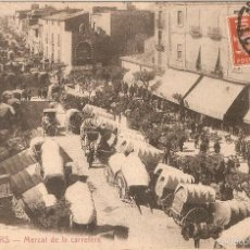 Postales: GRANOLLERS Nº 11 MERCAT DE LA CARRETERA L. ROISIN FOTOG. CIRCULADA. Lote 55692050