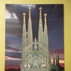 Postales: BARCELONA. SAGRADA FAMILIA. . Lote 55712262