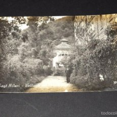 Postales: SANT HILARI (SACALM). VOLTANTS DEL ESTABLIMENT. Nº 8. POSTAL FOTOGRÁFICA. Lote 55830498