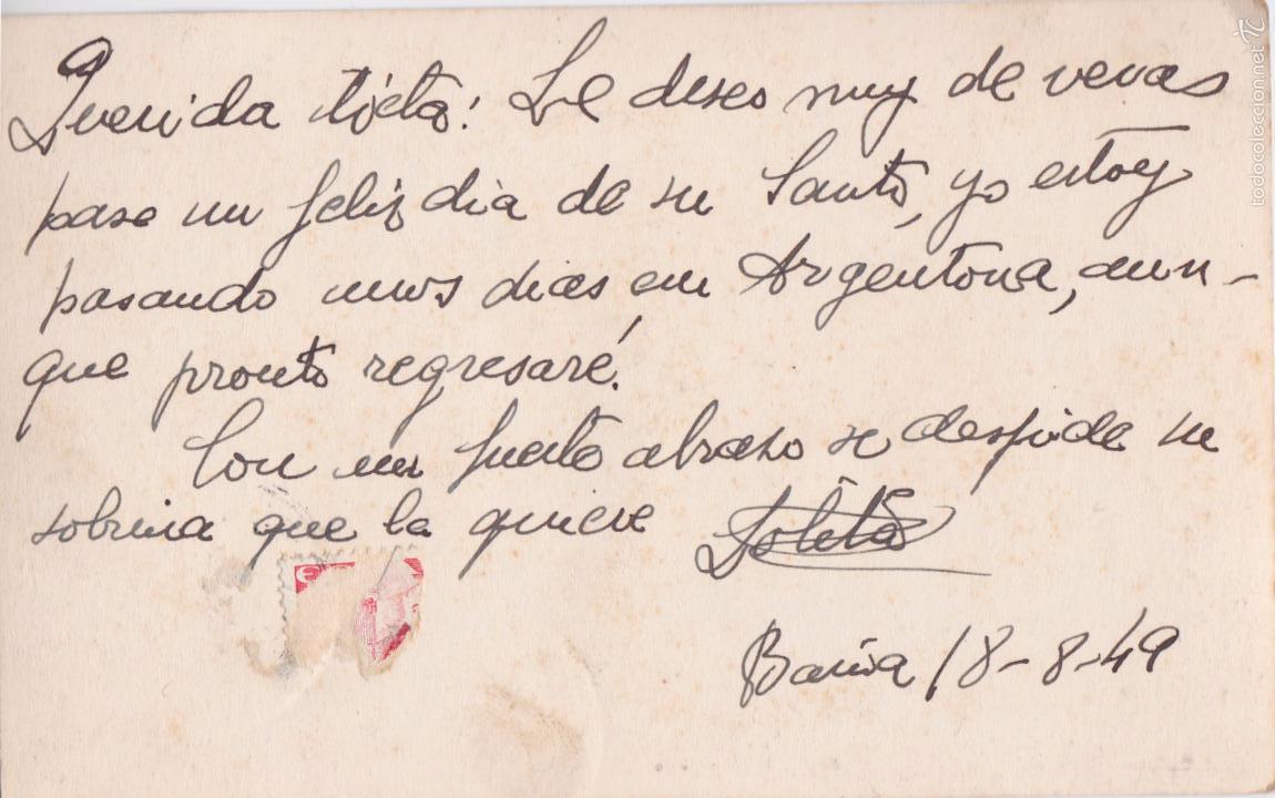 Postales: P- 4898. POSTAL ARGENTONA. CASTILLO BURRIACH. FOTO A. GÜELL. - Foto 2 - 55898093