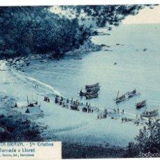 Postcards - PS6588 LLORET DE MAR 'STA. CRISTINA. TORNADA A LLORET'. L. ROISÍN. PRINC. S. XX - 55900163
