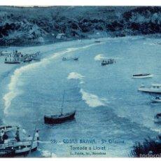 Postcards - PS6589 LLORET DE MAR 'STA. CRISTINA. TORNADA A LLORET'. L. ROISÍN. PRINC. S. XX - 55900433