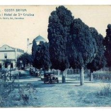 Postales: PS6595 LLORET DE MAR 'ERMITA Y HOTEL DE STA CRISTINA'. L. ROISÍN. SIN CIRCULAR. PRINC. S. XX . Lote 55904499