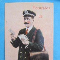 Postales: CARTERO VISELADO , RECUERDOS DE GERONA , GIRONA UNION POSTALE UNIVERSELLE , AÑOS 20-30. Lote 203197800