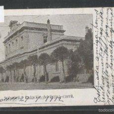 Postales: SABADELL - ESTACION FERROCARRIL - REVERSO SIN DIVIDIR-CIRCULADA - (42.613). Lote 55984568