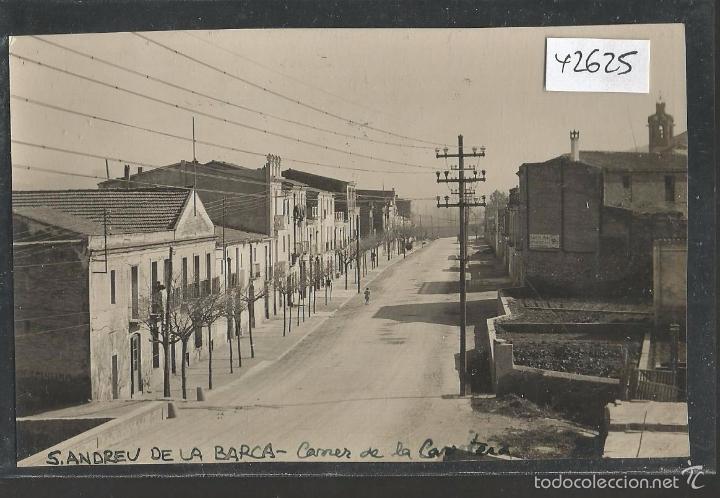 SANT ANDREU DE LA BARCA - FOTOGRAFICA - (42.625) (Postales - España - Cataluña Antigua (hasta 1939))