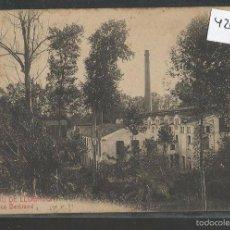 Postales: SAN FELIU DE LLOBREGAT - FABRICA BERTRAND - 9 - ROISIN - (42.636). Lote 55992435