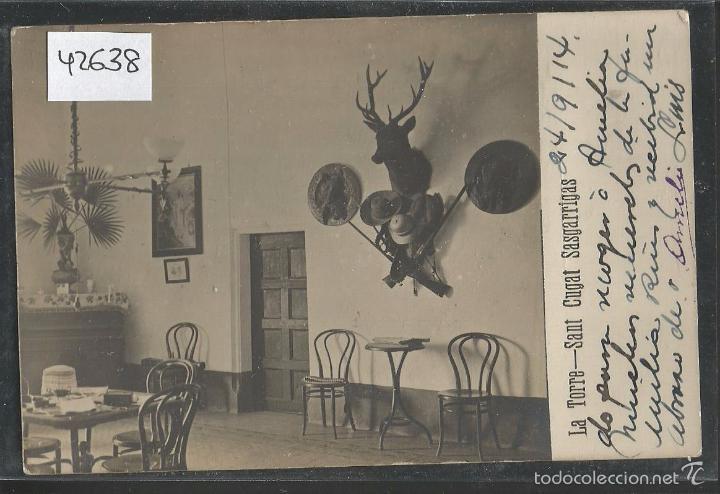SANT CUGAT SASGARRIGAS - LA TORRE - FOTOGRAFICA - (42.638) (Postales - España - Cataluña Antigua (hasta 1939))