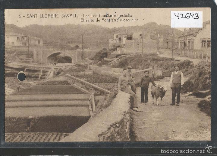 SANT LLORENÇ SAVALL - (42643) (Postales - España - Cataluña Antigua (hasta 1939))