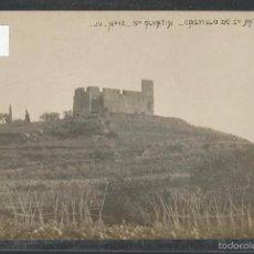 Postales: SANT QUINTI DE MEDIONA - SAN QUINTIN DE MEDIONA -FOTOGRAFICA J. V. 13- CASTILLO DE SAN ANT- (42.651). Lote 56050212