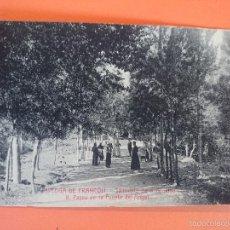 Postales: POSTAL ESPLUGA DE FRANCOLI-SANTUARIO DE LA TRINIDAD-PASEO FUENTE DEL ANGEL- ED. ANGEL TOLDRÁ..R-2026. Lote 56096308