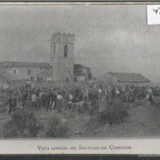 Postales: VALLGORGUINA - VISTA GENERAL DEL SANTUARI DEL CORREDOR -(42.673). Lote 56102128