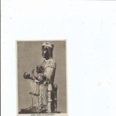 Postales: SANTA MARIA DE MONTSERRAT - BARCELONA - HUECOGRABADO RIEUSSET - SIN CIRCULAR. Lote 56103577
