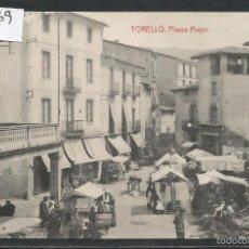 Postales: TORELLO -PLASSA MAJOR - JOSEPH MADIROLAS - (42.669). Lote 56105300