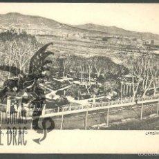Postales: BARCELONA AÑO 1870. JARDIN GENERAL. SANSOT Y MISSÉ HNOS, BARCELONA SIN CIRCULAR. Lote 56198911