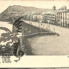 Postales: BARCELONA AÑO 1870. MURALLA DEL MAR. SANSOT Y MISSÉ HNOS, BARCELONA SIN CIRCULAR. Lote 56199651