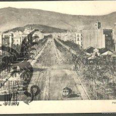 Postales: BARCELONA AÑO 1870. PASEO DE GRACIA. SANSOT Y MISSÉ HNOS, BARCELONA SIN CIRCULAR. Lote 56203816