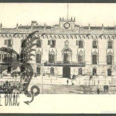 Postales: BARCELONA AÑO 1870. PALACIO . SANSOT Y MISSÉ HNOS, BARCELONA SIN CIRCULAR. Lote 56203823