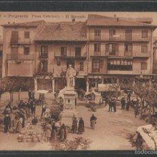 Postales: PUIGCERDA - PLAZA CABRINETY - EL MERCADO - (42.776). Lote 56234858