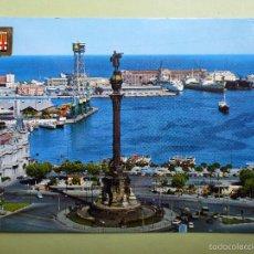 Postales: BARCELONA. MONUMENTO A CRISTÓBAL COLÓN. . Lote 56258519