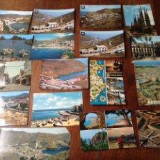 Postales: POSTALES BARCELONA Y LA COSTA AÑOS 70. Lote 56311021