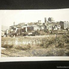 Postales: POSTAL DE GIRONELLA DE LOS AÑOS 50. Lote 56369725