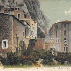 Cartes Postales: MONTSERRAT - Nº 4. ENTRADA AL MONASTERIO - ESCRITA. Lote 56474538