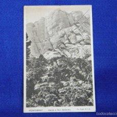 Postales: POSTAL FOTO MONSERRAT AEREO DE SAN GERONIMO. Lote 56509706