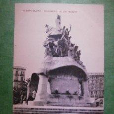 Postales: POSTAL - ESPAÑA - 118 BARCELONA - MONUMENTO AL DR. ROBERT - MISSE Hº BARNA - NUEVA -. Lote 56525810