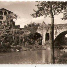 Postcards - OLOT. 9.Puente de San Roque. ed. Garcia Garabela.Escrita. Vell i Bell - 56600398