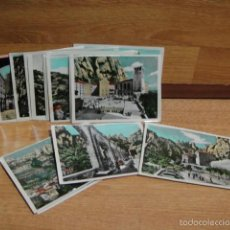 Postales: 17 VISTAS FOTOGRAFICAS DE MONTSERRAT - ZERKOWITZ. Lote 56653990