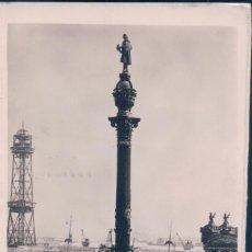 Postales: POSTAL BARCELONA- 90. MONUMENTO A COLON.CIRCULADA.. Lote 56769675