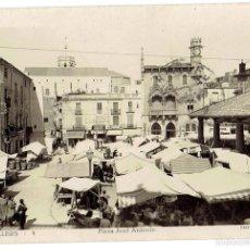 Postales: PS668 GRANOLLERS 'PLAZA JOSÉ ANTONIO'. FOTOGRÁFICA. F. GUILERA. CIRCULADA. 1950. Lote 56913229