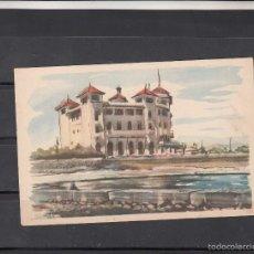 Postales: LLOVERAS - HOTEL TERRAMAR - SITGES. Lote 56943776